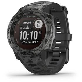 Garmin Instinct Solar Camo GPS Smartwatch slate grey